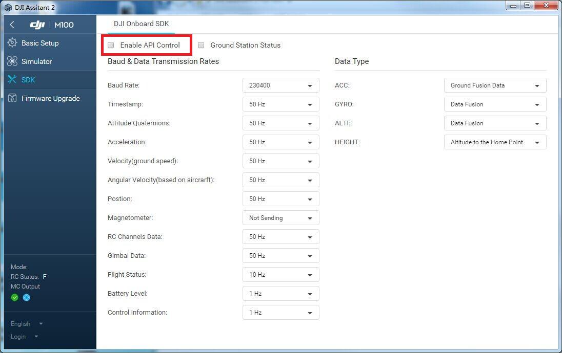 Software Environment Setup Guide - DJI Onboard SDK Documentation