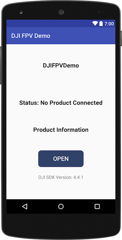Creating a Camera Application - DJI Mobile SDK Documentation