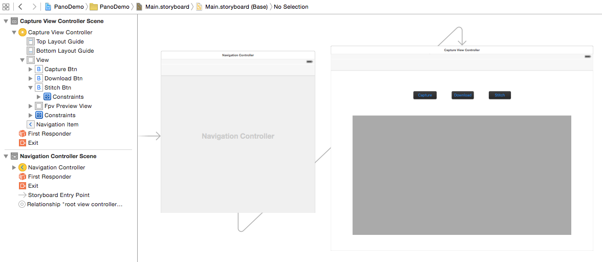 Creating a Panorama Application - DJI Mobile SDK Documentation